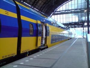 Zug nach Eindhoven